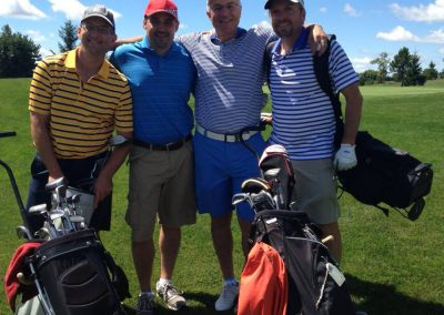 Golfers at Fore for Shan