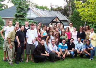 Group photo at Shan's Celebration of Life
