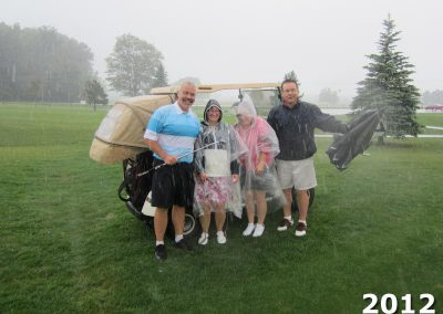 Rain stops play at Fore for Shan 2012