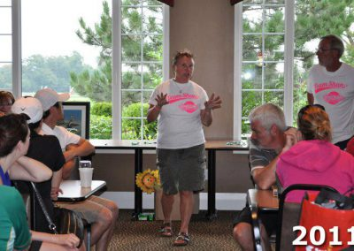 Lorna Larsen speaking at Fore For Shan 2011