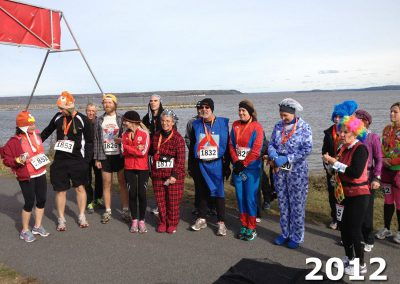 Stato's Haunted Hustle Finish Line - 2012