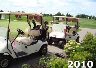 Golf Carts at Fore For Shan 2010