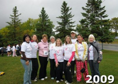 Run for a Cure North Bay 2009