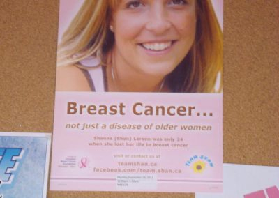 Team Shan poster at University of Calgary