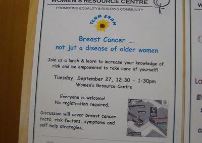 University of Calgary Women's Resource Centre poster