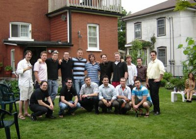 Group of Boys at Shan's Celebration of Life