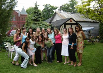 Group of girls at Shan's Celebration of Life
