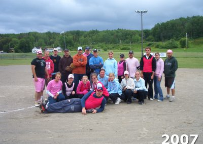Group photo on the ball field at KCOOTP 2007