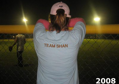 Team Shan supporter watch the ball game at KCOOTP 2008