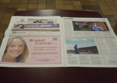 Team Shan ad in UBC News