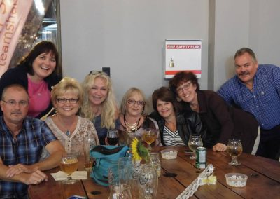 Friends and supporters at Team Shan's 10th Anniversary Celebrations