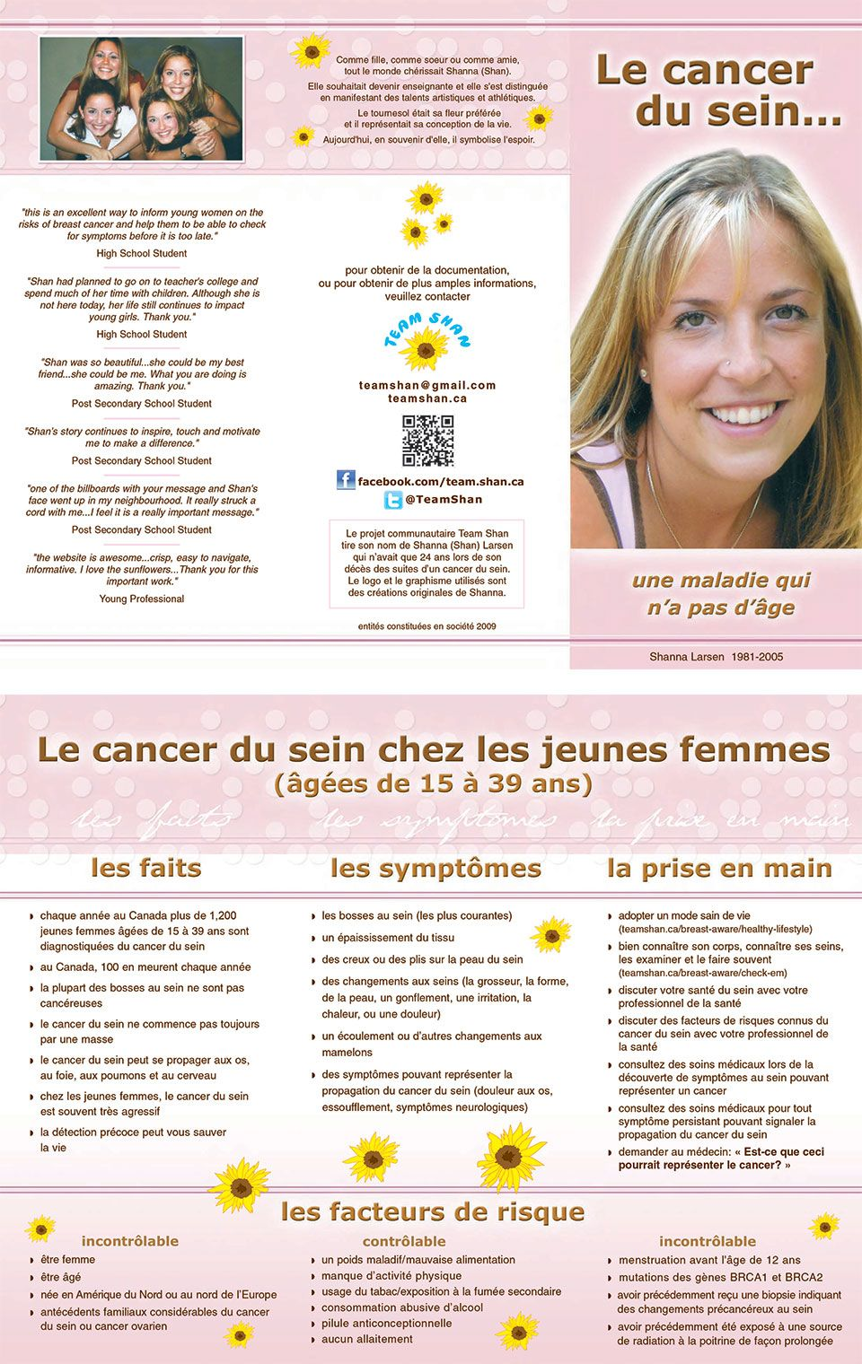 Team Shan Brochure - French