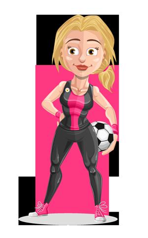 Pink Soccer Shanimation